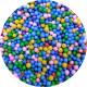 Пенопластовые шарики микс