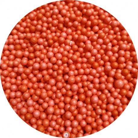 Пенопластовые шарики оранжевые