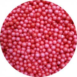 Пенопластовые шарики красные