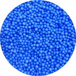 Шарики пенопластовые голубые