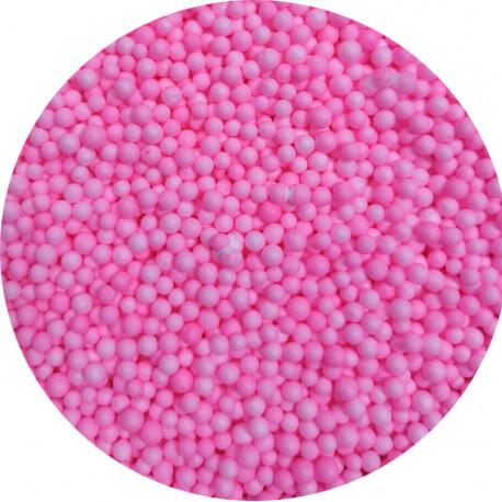 Пенопластовые шарики розовые
