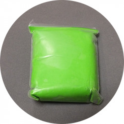 Пластилин легкий зеленый