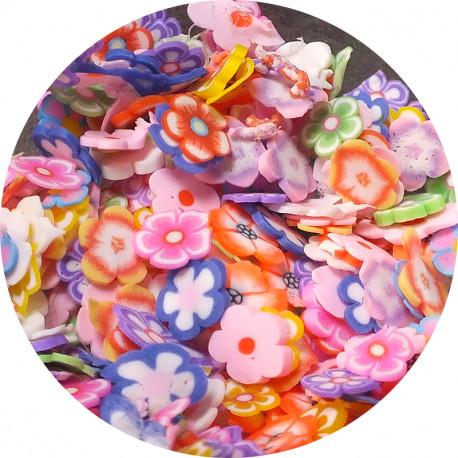 Посыпка для слаймов Фимо Цветы